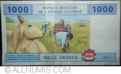 Image #2 of 1000 Francs 2002