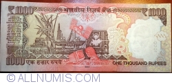 Image #2 of 1000 Rupees 2014 - L