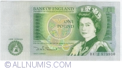 Image #1 of 1 Pound ND (1981-1984)