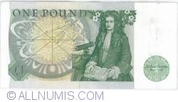 Image #2 of 1 Pound ND (1981-1984)