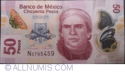 Image #1 of 50 Pesos 2012 (12. VI.) - Serie C