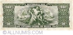 Image #2 of 10 Cruzeiros ND (1953-1960) - signaturesi Carlos Augusto Carrilho / Sebastião Paes de Almeida