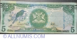 5 Dollars 2006 - signature Dr. Alvin Hilaire