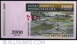 Image #2 of 2000 Ariary = 10000 Francs 2007
