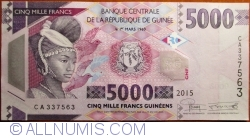 Image #1 of 5000 Francs 2015