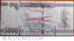 Image #2 of 5000 Francs 2015