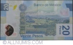 Image #2 of 20 Pesos 2011 (24. VI.) - Serie P