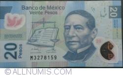 Image #1 of 20 Pesos 2011 (24. VI.) - Serie P