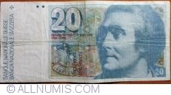 Image #1 of 20 Franken 1978 - signatures Dr. Edmund Wyss / Dr. Fritz Leutwiler (54)