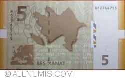 Imaginea #2 a 5 Manat 2009