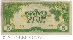 Imaginea #1 a 5 Gulden ND(1942)