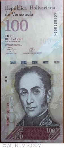 Imaginea #1 a 100 Bolivares 2013 (29. X.)