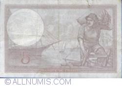 Image #2 of 5 Francs 1928 (19. IX.)