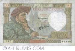 Image #1 of 50 Francs 1941 (17. IV.)
