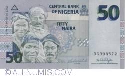 Image #1 of 50 Naira 2008