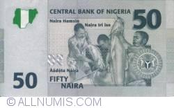 Image #2 of 50 Naira 2008