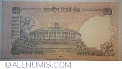 Image #2 of 50 Rupees 2010 - L