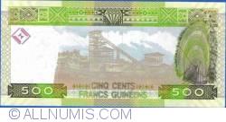 Image #2 of 500 Francs 2012 (1. III.)