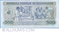 Image #2 of 500 Meticais 1983 (16. VI.)