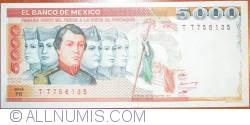 Image #1 of 5000 Pesos 1985 (19. VII.)