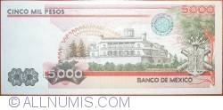 Image #2 of 5000 Pesos 1985 (19. VII.)