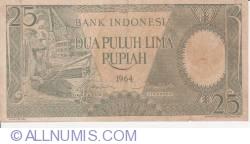 Image #1 of 25 Rupiah 1964