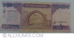 Imaginea #2 a 100 Afghanis 2008 (SH 1387 - ١٣٨٧)