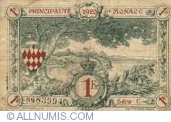 1 Franc 1920