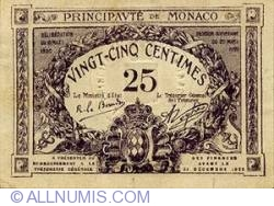 Image #1 of 25 Centimes 1920