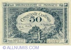 Image #1 of 50 Centimes 1920