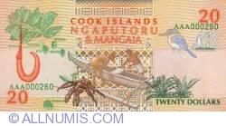 Imaginea #2 a 20 Dolari ND (1992)
