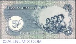 Imaginea #2 a 5 Shillings ND (1968-1969)