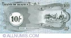 Imaginea #2 a 10 Shillings ND (1968-1969)