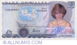 Image #1 of 5 Pounds - Wales