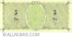 5 Francs ND (1943)