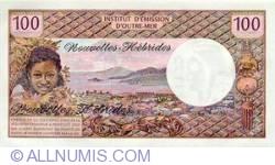 Imaginea #2 a 100 Franci 1972