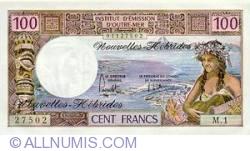 Imaginea #1 a 100 Franci 1972
