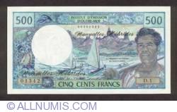Imaginea #1 a 500 Franci 1979