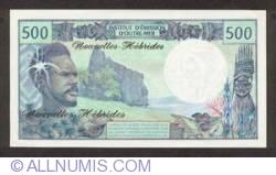Imaginea #2 a 500 Franci 1979