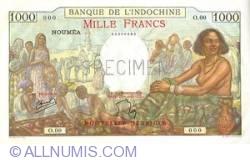 1000 Francs 1941