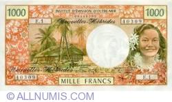 Imaginea #1 a 1000 Franci 1972