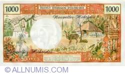 Imaginea #2 a 1000 Franci 1972