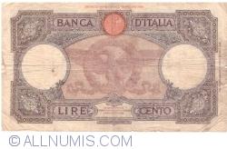 Image #2 of 100 Lire 1942 (11. VI.)