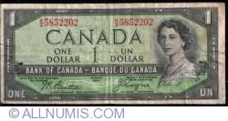 Image #1 of 1 Dollar 1954 - sign Beattie / Coyne