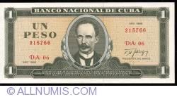 Image #1 of 1 Peso 1986