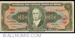 Image #1 of 10 Cruzeiros ND(1962)
