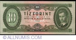 Imaginea #1 a 10 Forint 1969