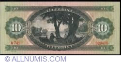 Imaginea #2 a 10 Forint 1969