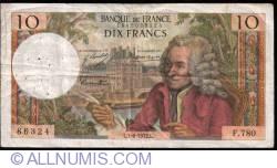 Image #1 of 10 Francs 1972 (1. VI.)