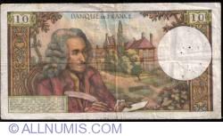 Image #2 of 10 Francs 1972 (1. VI.)